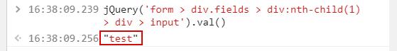 Проверка CSS-селектора в консоли разработчика
